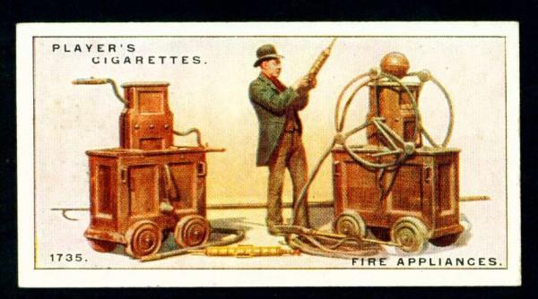 Пожарные насосы, 1735 год