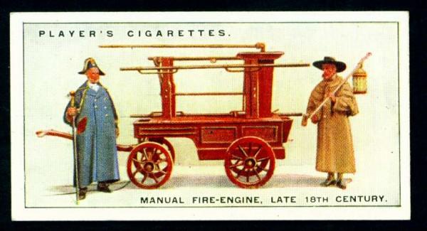 Ручной пожарный насос, конец 18 века