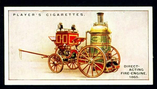 Пожарный насос прямого действия, 1865 год