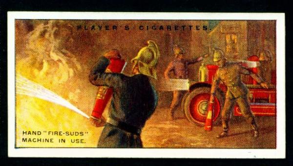 Огнетушители в работе