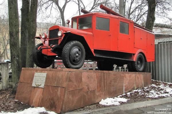 Памятник смоленским пожарным, погибшим в боях за Родину и на пожарах