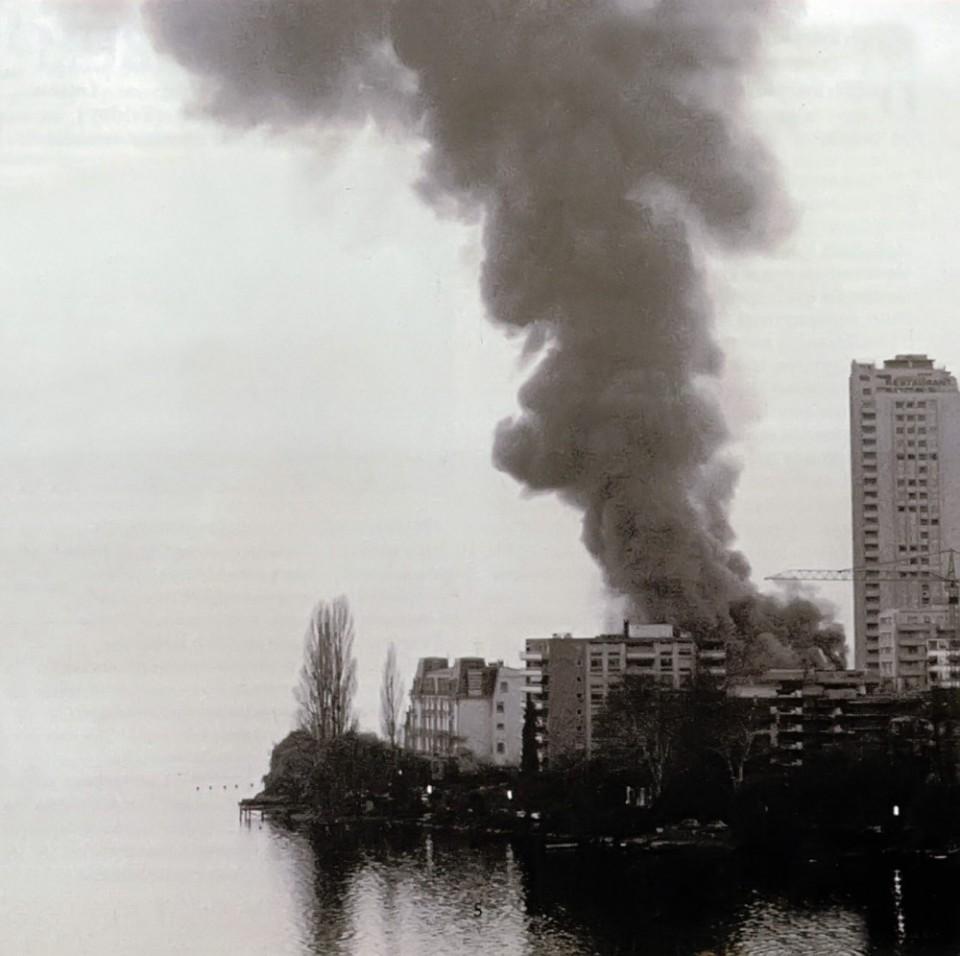 Пожар в казино Монтре 4 декабря 1971 года