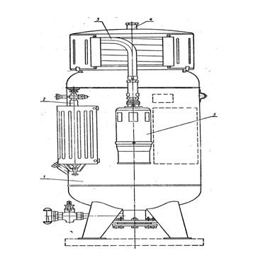 Универсальный воздушно-пенный ОВПУ огнетушитель