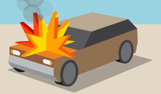 Причины пожаров в автомобиле