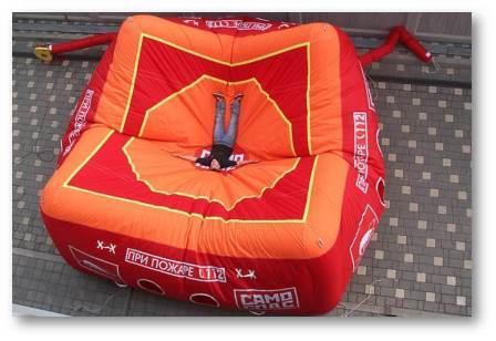 прыжковое спасательное устройство