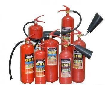 Назначение огнетушителей