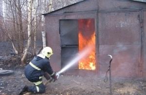 Средства защиты гаража от пожара