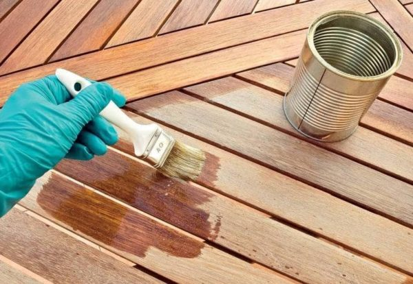 Огнебиозащита древесины вручную