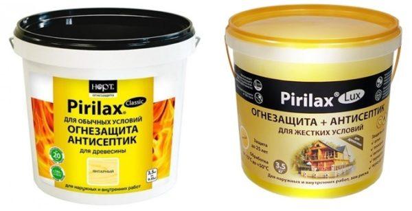 Виды продукции Pirilax lux и classic