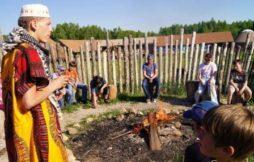 Дети и пожарная безопасность в детском лагере