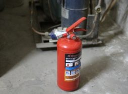 Испытания огнетушителей