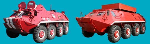 БТР-60ПБ и БТР-60АТМ